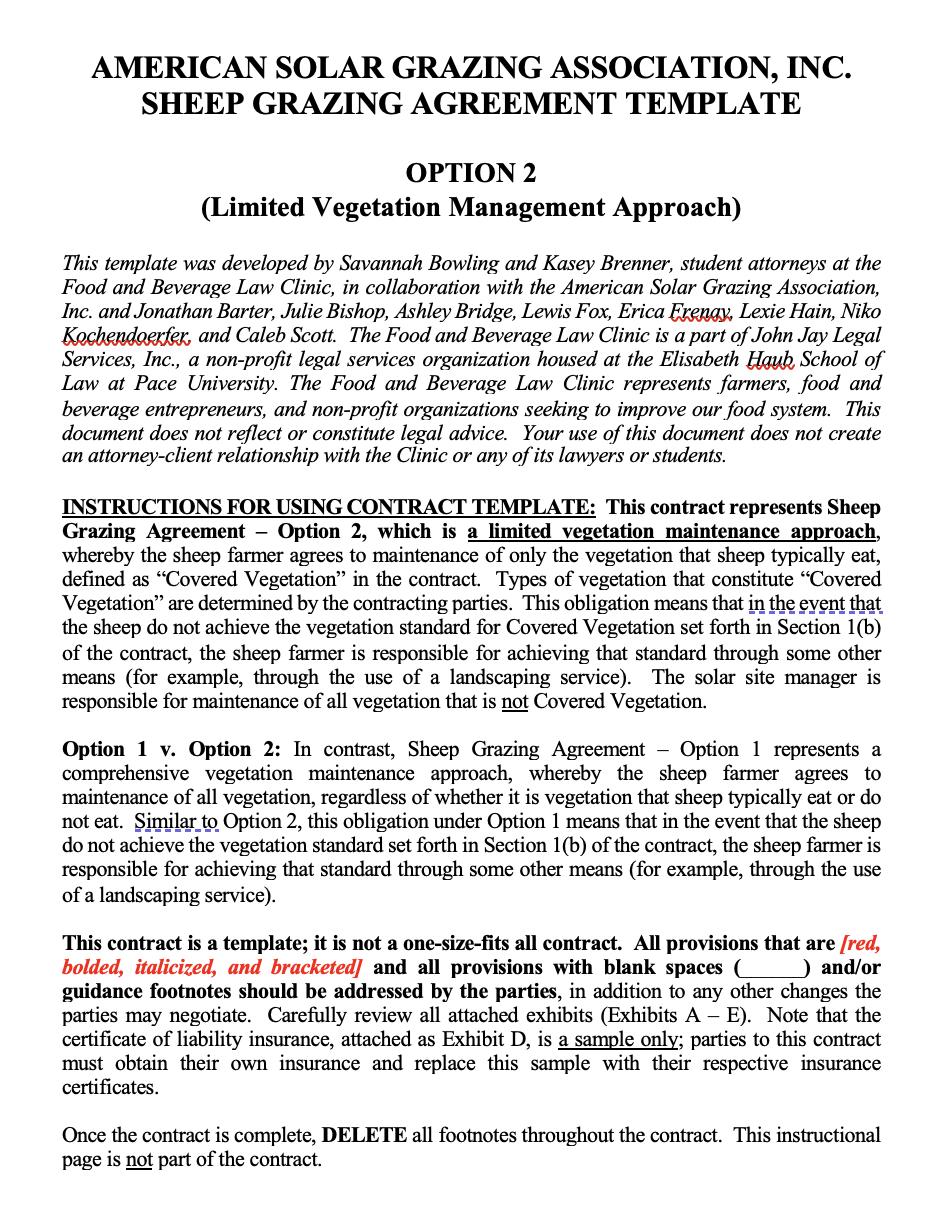 Screen Shot_Option 2 - Limited Vegetation Management Approach